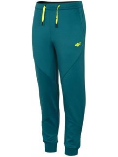 Chlapčenské funkčné nohavice JSPMTR401A - morská zelená