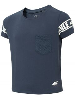 Dievčenské tričko JTSD204 - tmavomodrá