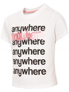 Dievčenské tričko JTSD210 - biela