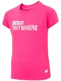 Dievčenské tričko JTSD211 - fuksiová