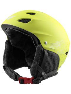 Lyžiarska prilba pre staršie deti (chlapcov) JKSM400 - zelená