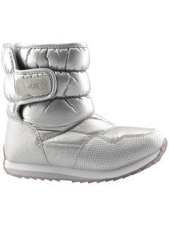 Zimné topánky pre staršie deti (dievčatá) JOBDW205 – strieborná