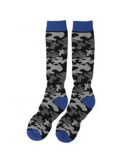 Lyžiarske ponožky pre staršie deti (chlapcov) JSOMN402 – multifarebná