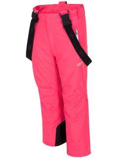 Lyžiarske nohavice pre staršie deti (dievčatá) JSPDN401 – fuksiová