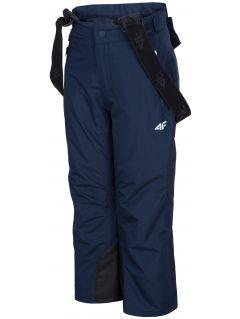 Lyžiarske nohavice pre mladšie deti  (chlapcov) JSPMN300 – tmavomodrá