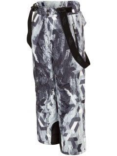 Lyžiarske nohavice pre staršie deti  (chlapcov) JSPMN401 - multifarebná allover