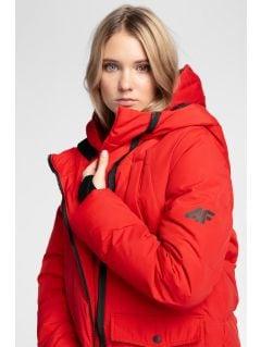 Dámska zimná bunda 4Hills KUDP100 - tmavočervená