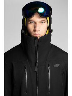 Pánska lyžiarska bunda 4Hills KUMN101 - čierna