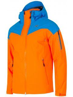 Pánska lyžiarska bunda KUMN152A – neónová oranžová