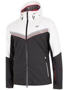 Pánska lyžiarska bunda KUMN901 - biela