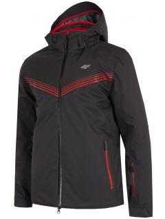 Pánska lyžiarska bunda KUMN901 - čierna