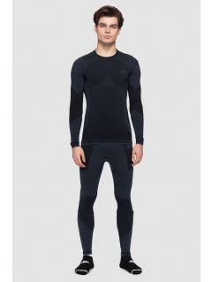 Pánske bezšvové prádlo (horná +spodná časť) BIMB261 - tmavošedá