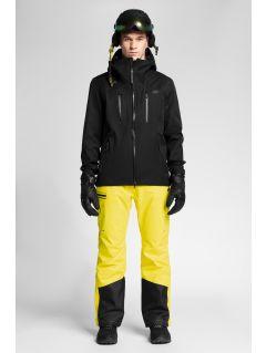 Pánska lyžiarska bunda KUMN151 - čierna