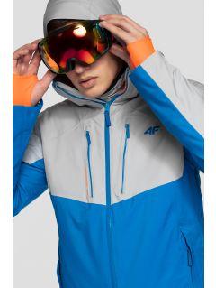 Pánska lyžiarska bunda KUMN258 - kobaltová modrá