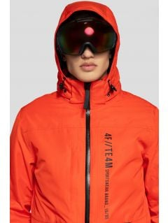Pánska lyžiarska bunda KUMN552R - oranžová 6b216fcdf14