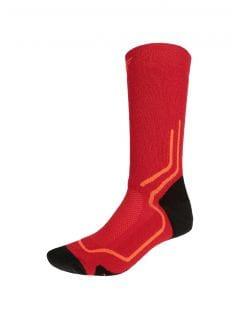 Trekingové ponožky unisex SOUT200 - červená