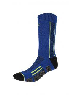 Trekingové ponožky unisex SOUT201 - denim melanž