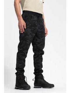 Pánske tréningové nohavice SPMD204 - čierna allover