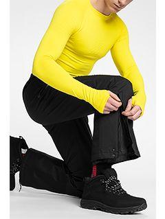Pánske lyžiarske nohavice SPMN150 - čierna