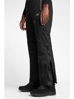 Pánske lyžiarske nohavice SPMN151 - čierna