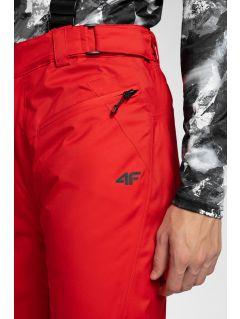 Pánske lyžiarske nohavice SPMN251 – červená