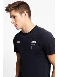 Pánske tričko TSM209 - tmavomodrá