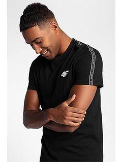 Pánske tričko TSM211 - čierna