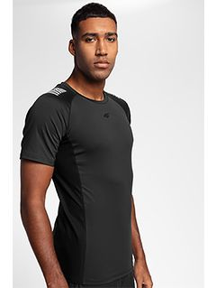 Pánske tréningové tričko TSMF155 - čierna