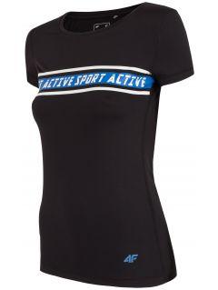Dámske tréningové tričko TSDF152 – čierna