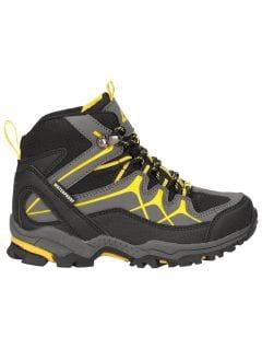 Jesenné topánky pre staršie deti (chlapcov) JOBMA400 - čierna
