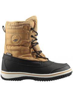 Zimné topánky pre staršie deti (chlapcov) JOBM207 – žltá