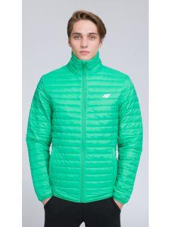 Pánska bunda so syntetickou výplňou KUMP203 - zelená