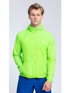 Pánska tréningová bunda KUMTR001  -  zelená neón