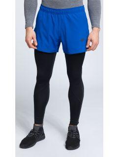 Pánske tréningové šortky skmf005 -  tyrkysová