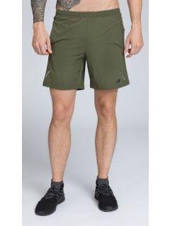 Pánske tréningové šortky skmf251 -  khaki