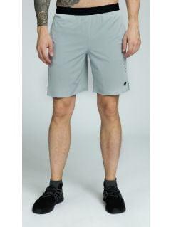 Pánske tréningové šortky skmf255 -  svetlá šedá