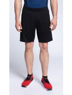 Pánske tréningové šortky skmf261 - čierna