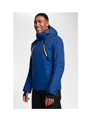 Pánska lyžiarska bunda KUMN153 – kobaltová modrá