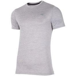 Pánske tréningové tričko TSMF301 - svetlošedá melanž 7998192873a