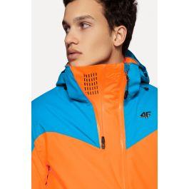 Pánska lyžiarska bunda KUMN152A – neónová oranžová eef56021bb3