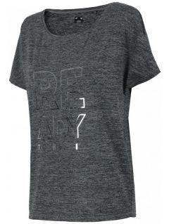 Dámske tréningové tričko TSDF206 - soľ a korenie