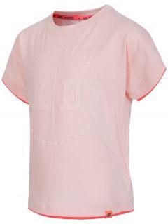 Tričko pre mladšie dievčatká JTSD102 - svetlá ružová