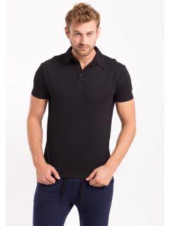 Pánske polo tričko TSM050 - čierna