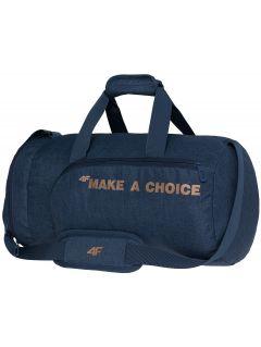 Športová taška TPU006  - tmavá náladová melanž
