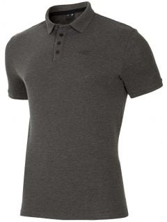 Pánske polo tričko TSM024 - svetlošedá