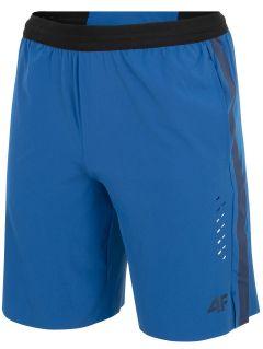 Pánske tréningové šortky skmf255 - modrá