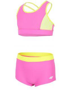Plavky pre staršie dievčatá JKOS209 - ružová
