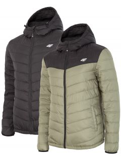 Pánska zimná bunda KUM054 - čierna