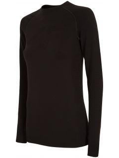 Dámske bezšvové prádlo (horná časť) BIDB103G - čierna