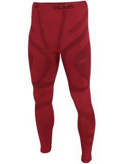Pánske bezšvové prádlo (spodná časť) BIMB200D - tmavočervená